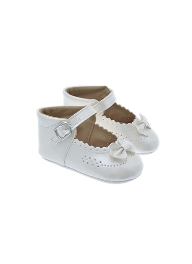 Freesure 211628 Ecru Freesure Kız Bebek Patik Bebek Ayakkabı  Ekru
